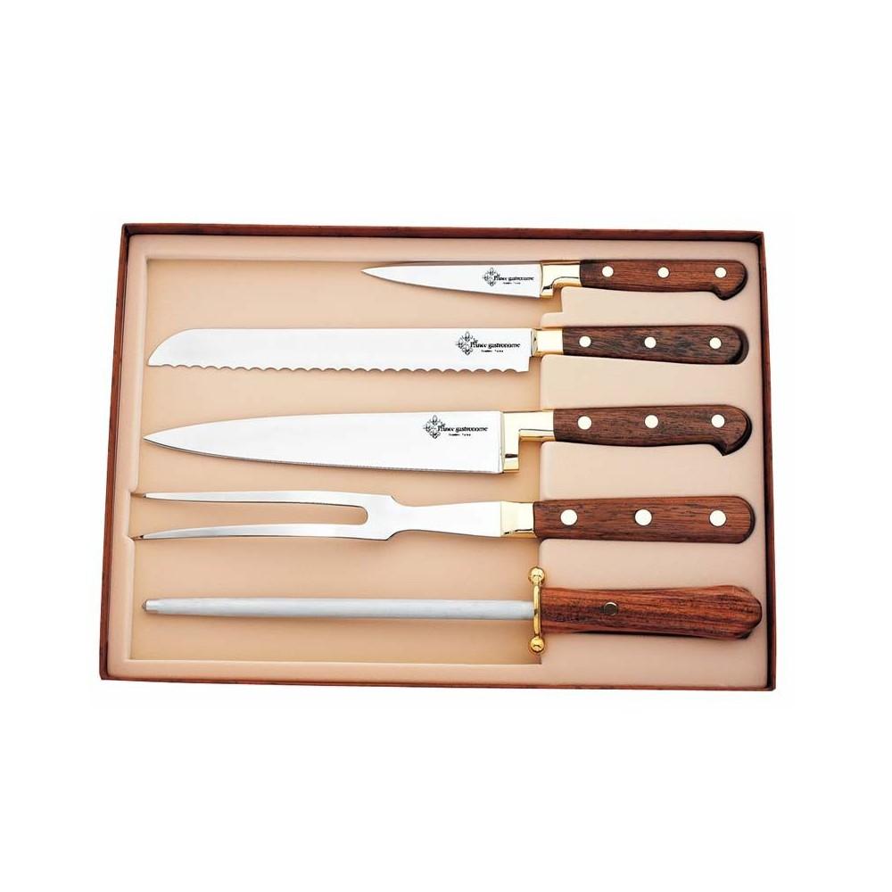 Coffret couteaux inox au nain - Coffret couteaux de cuisine ...