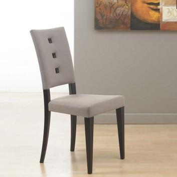 Chaise grise Laquée