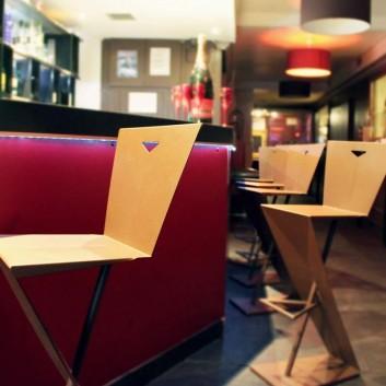 Tabouret de bar Design ZHED