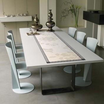 serviettes table Jacquard x4
