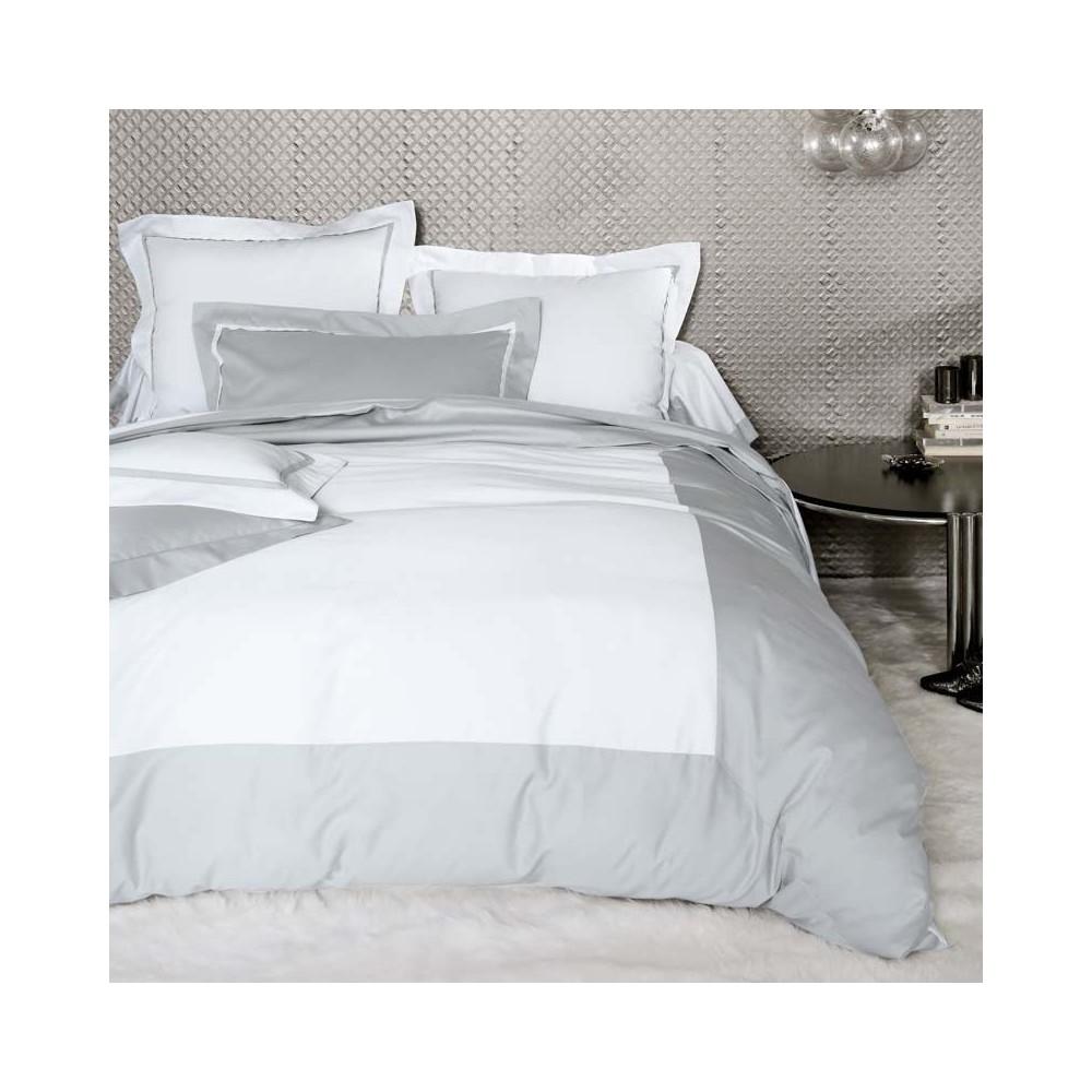 blanc des vosges ambroise m tal satin cotton bed linen. Black Bedroom Furniture Sets. Home Design Ideas