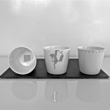 Timbales Porcelaine Non sans Raison