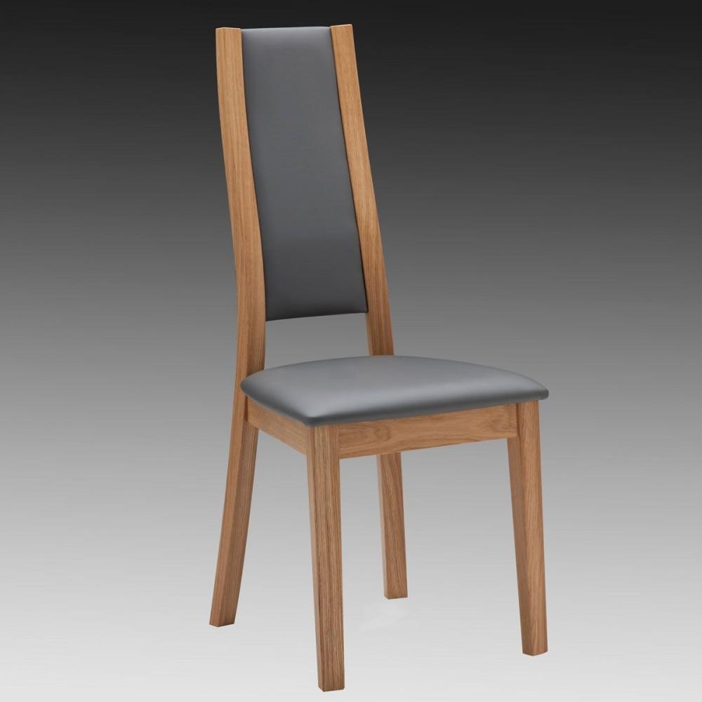 chaise en chne massif contemporaine fabrique en france - Chaise En Chene