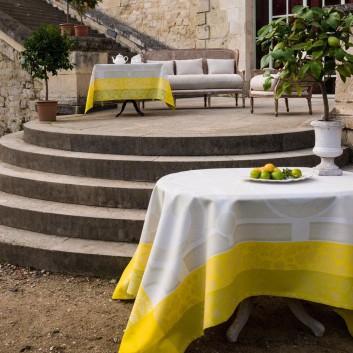 Nappe Jardin Royal Jacquard